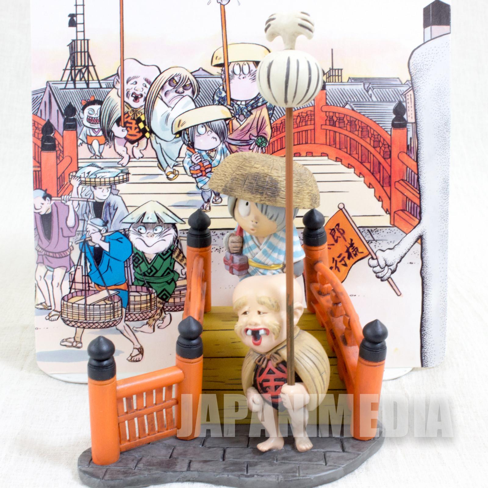 Gegege no Kitaro Diorama Vignette Figure Nihonbashi Ver. Youkai JAPAN ANIME