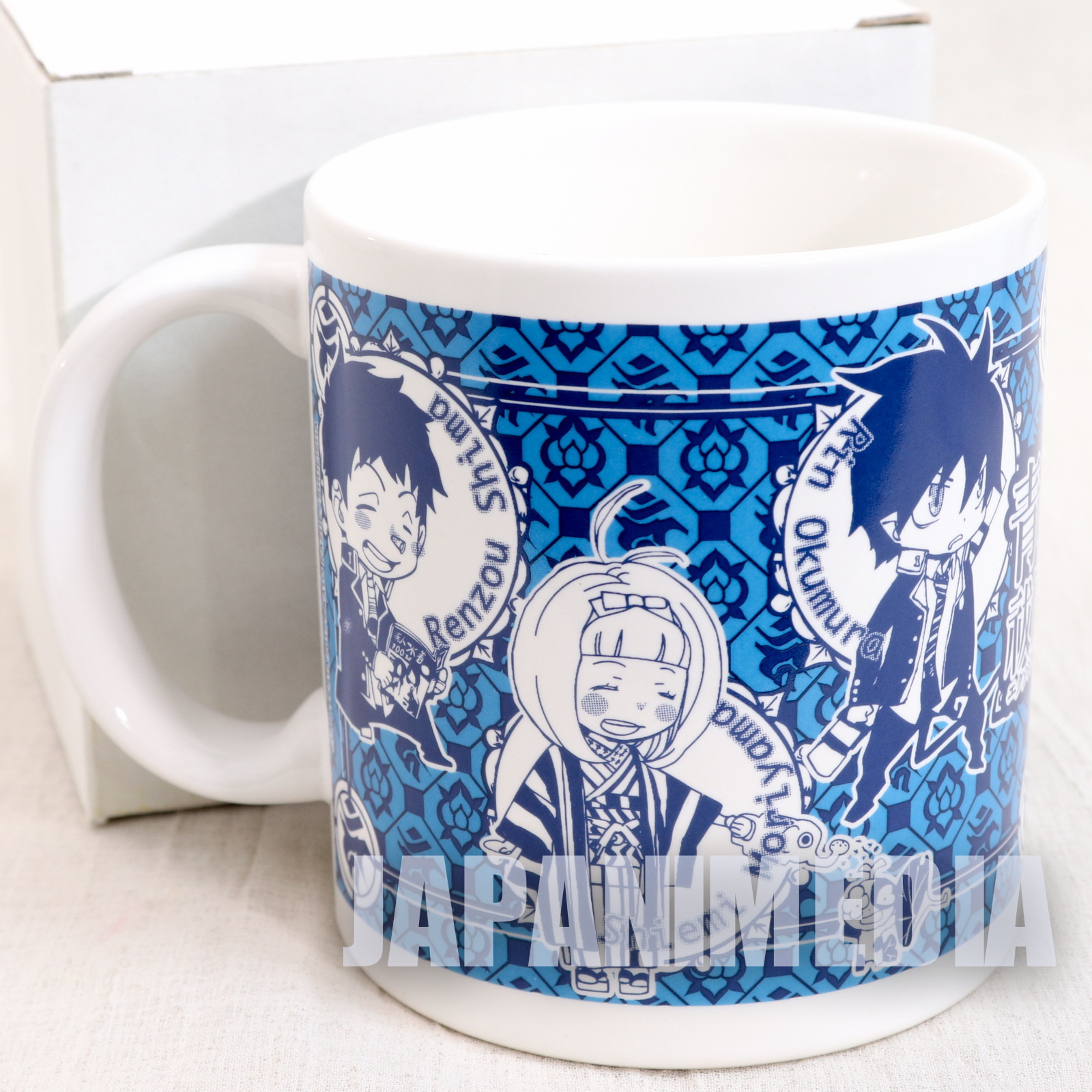 Blue Exorcist MUG Jump Festa 2012 (Rin Yukio Shiemi Suguro Shima Konekomaru) JAPAN ANIME MANGA