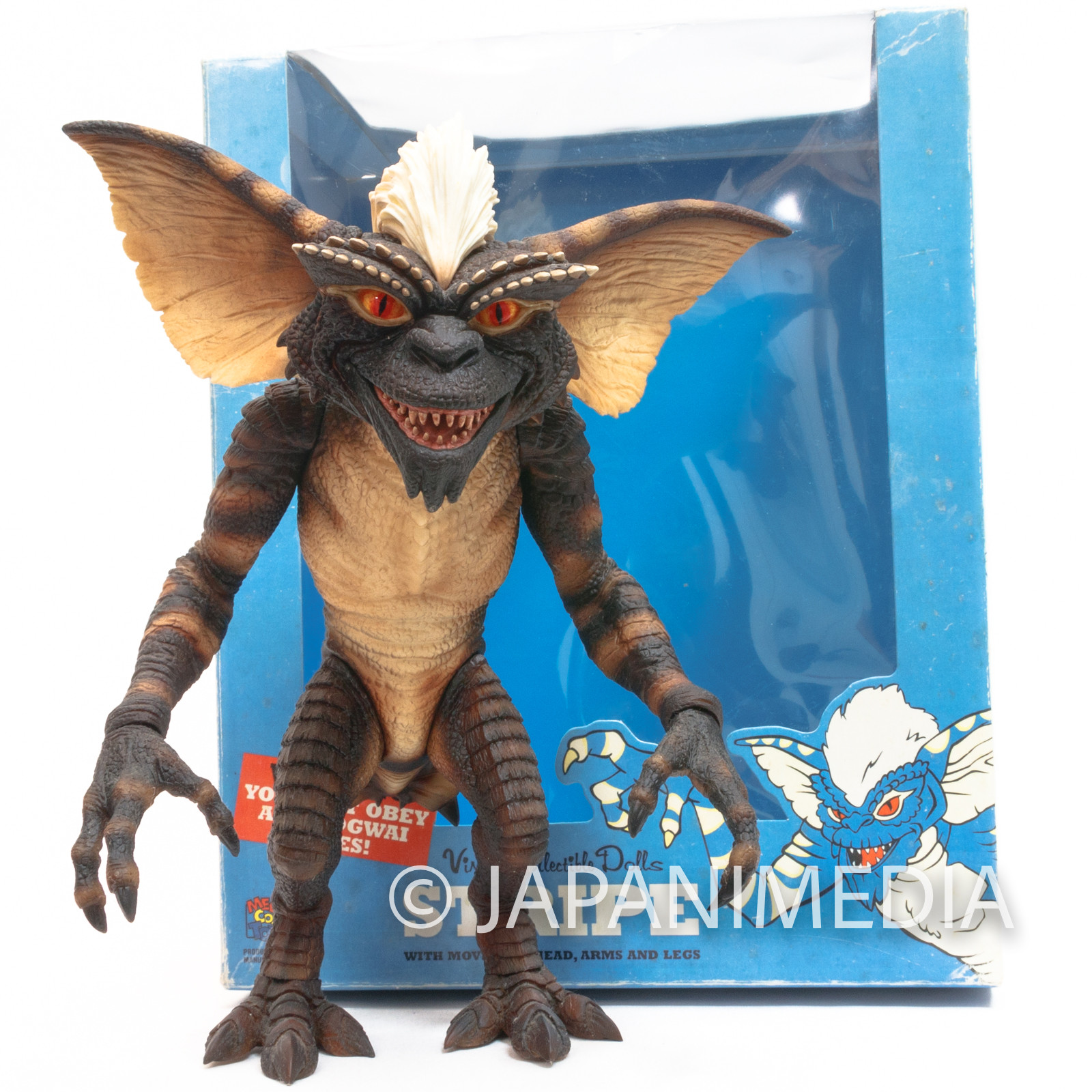 Gremlins Stripe VCD Vinyl Collectible Dolls Figure Medicom Toy JAPAN MOVIE