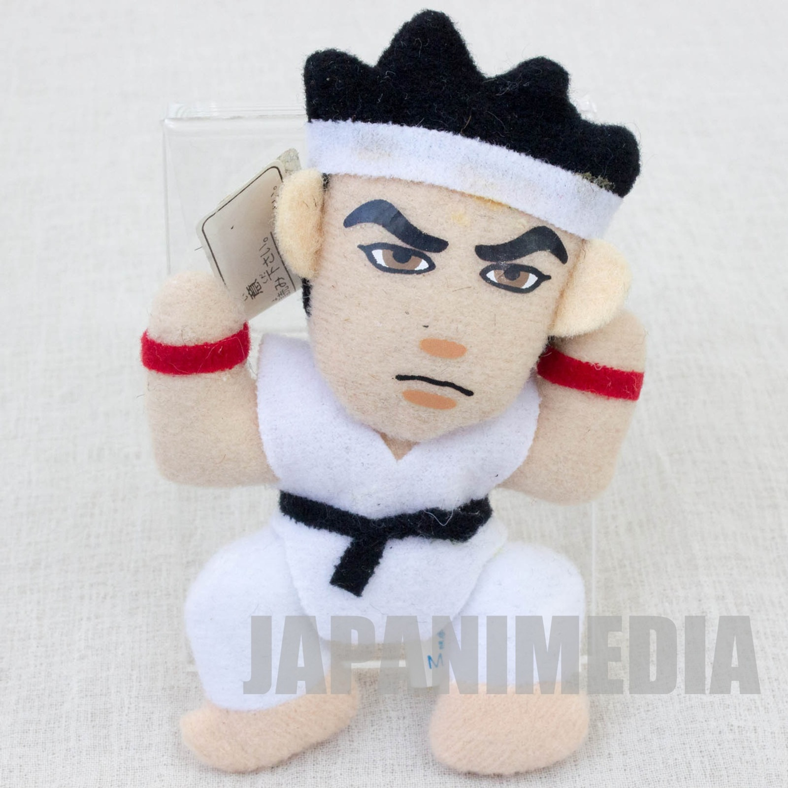 "Virtua Fighter 2 Akira Yuki 3.5"" Mini Plush Doll SEGA 1995 JAPAN GAME 2"