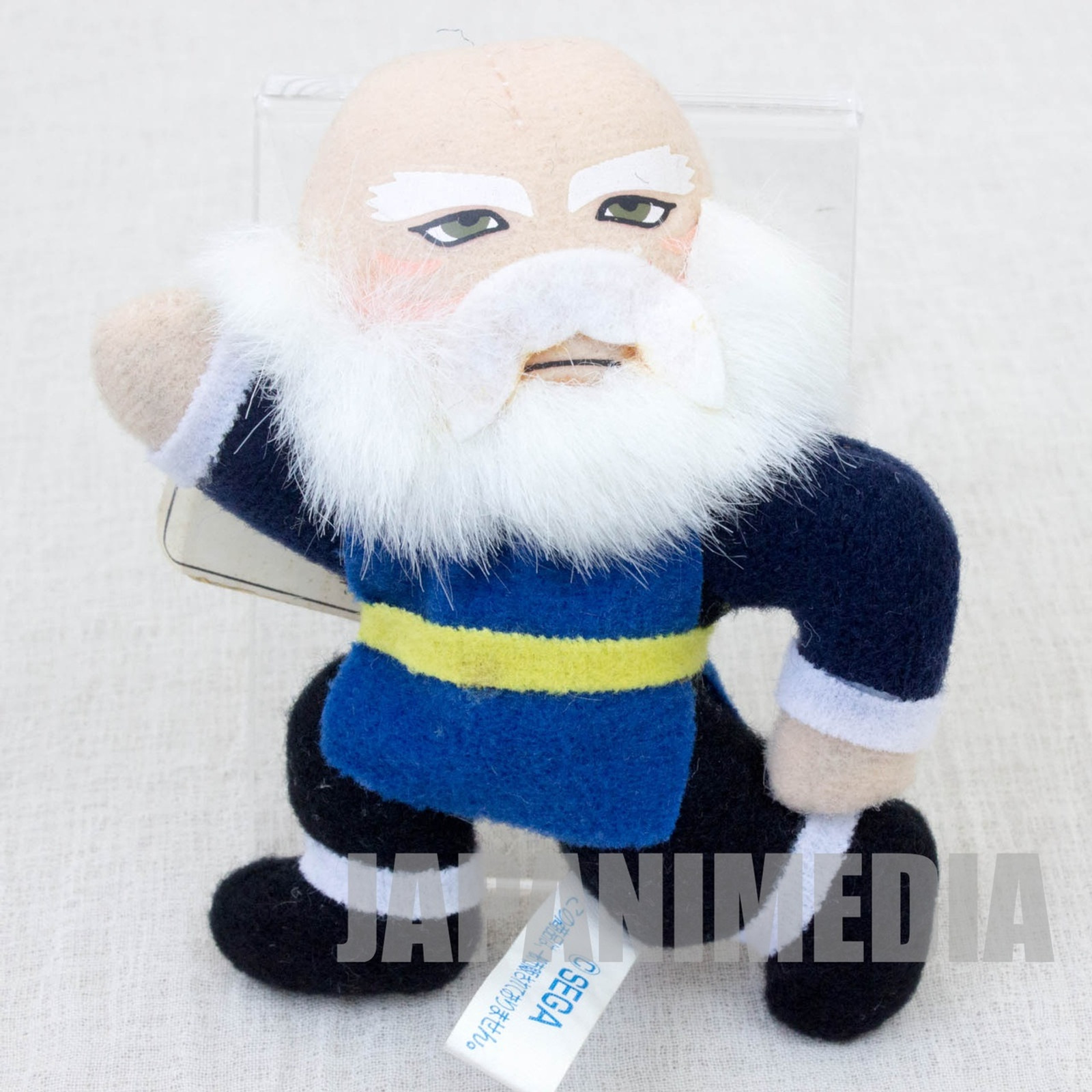 "Virtua Fighter 2 Shun Di 3.5"" Mini Plush Doll SEGA 1995 JAPAN GAME 2"