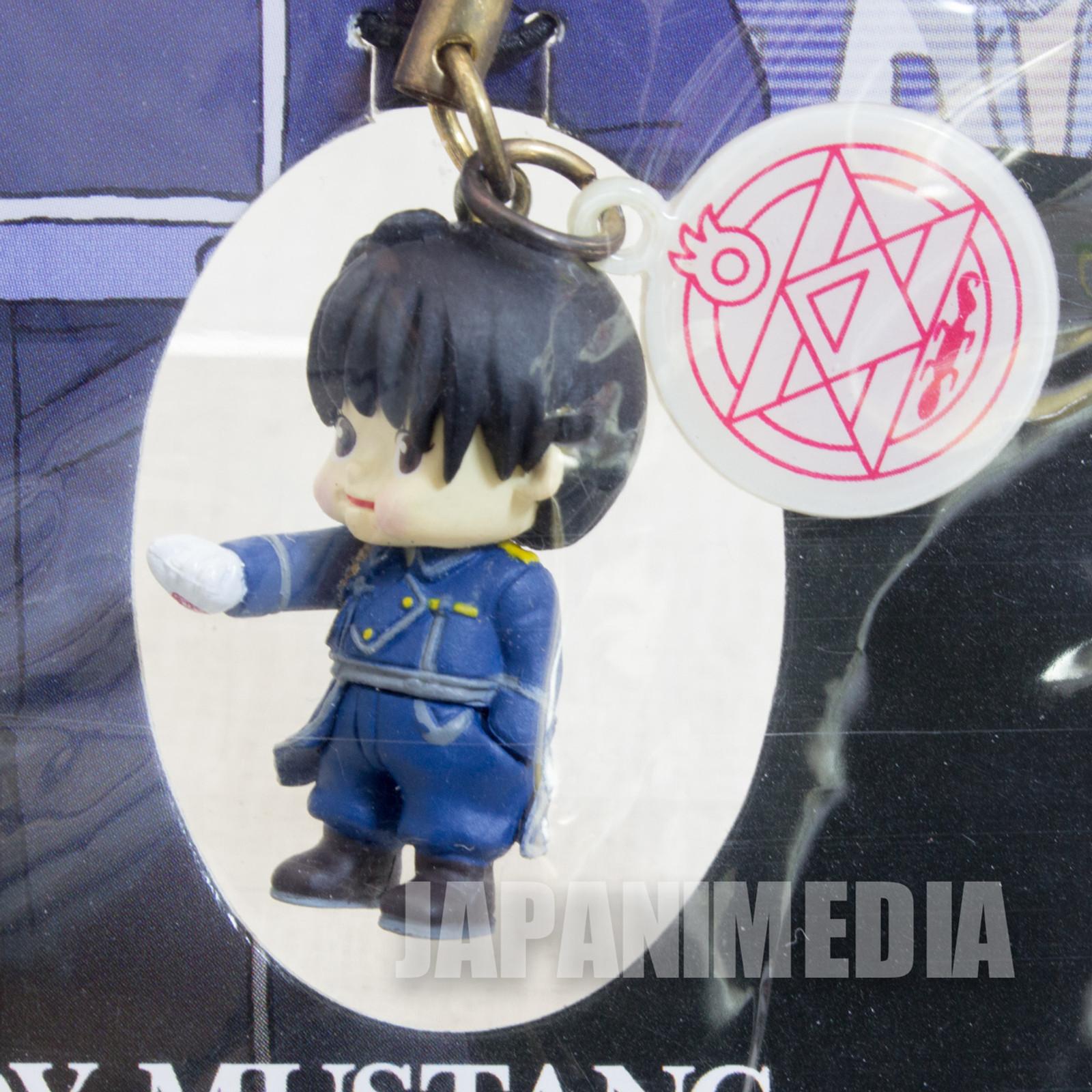 FullMetal Alchemist Roy Mustang Rose O'neill Kewpie Kewsion Strap JAPAN ANIME