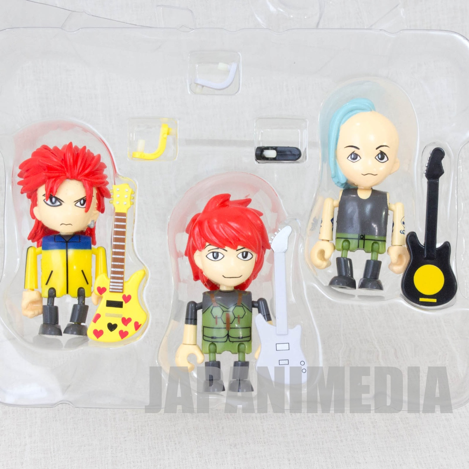 hide with Spread Beaver Mini Figure 3pc Set Play Box 01 J-Rock X-JAPAN