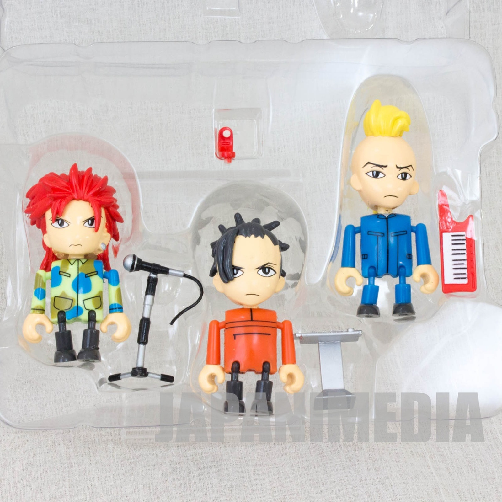 hide with Spread Beaver Mini Figure 3pc Set Play Box 03 J-Rock X-JAPAN