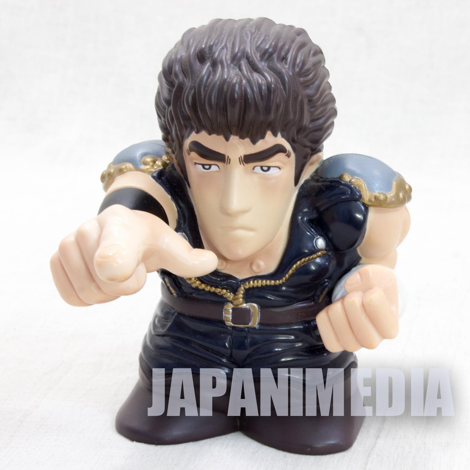 Fist of the North Star KENSHIRO Talking Figure Pressure-point Push JAPAN