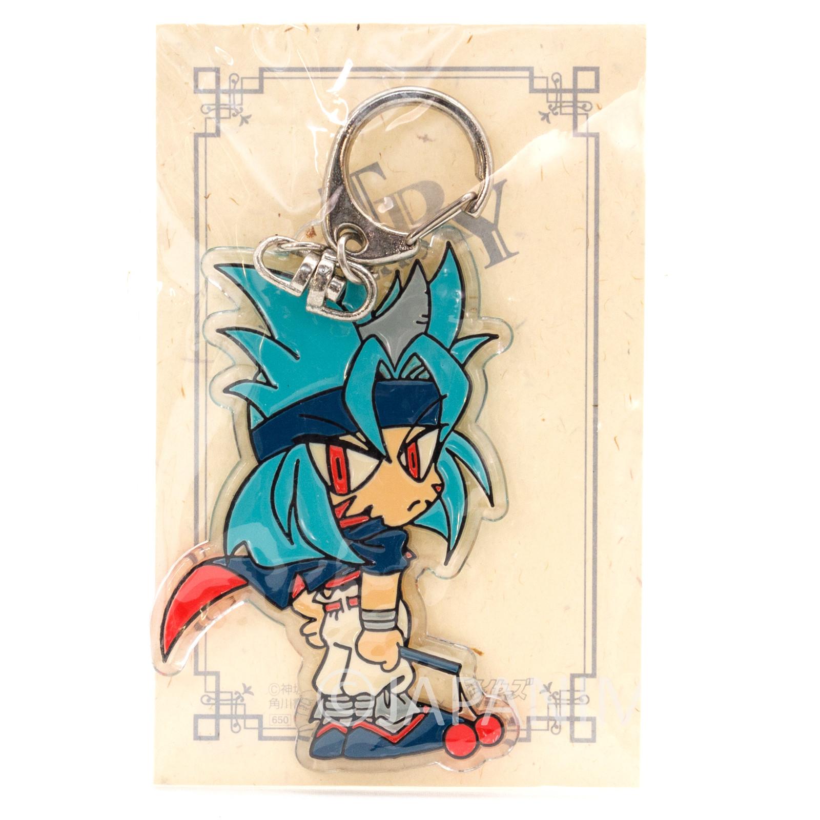 RARE! Slayers Try Valgarv Acrylic Mascot Key Chain JAPAN ANIME MANGA