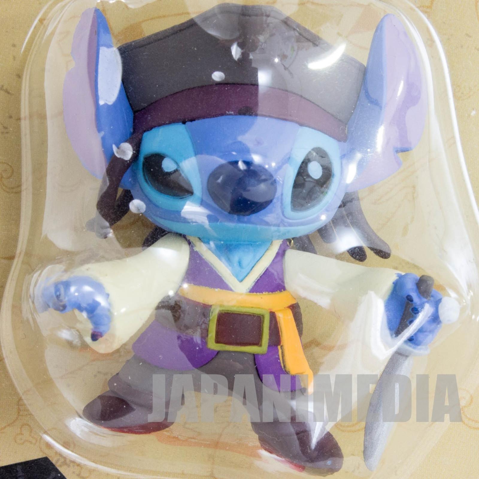 Disney Stitch Pirates of Caribbean Figure Key Chian JAPAN ANIME