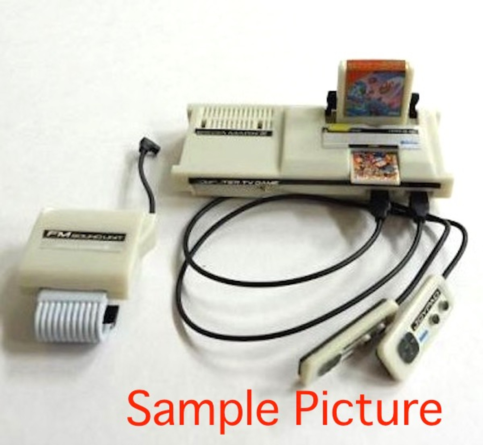 SEGA Mark III Miniature Figure SR SEGA History Collection JAPAN GAME