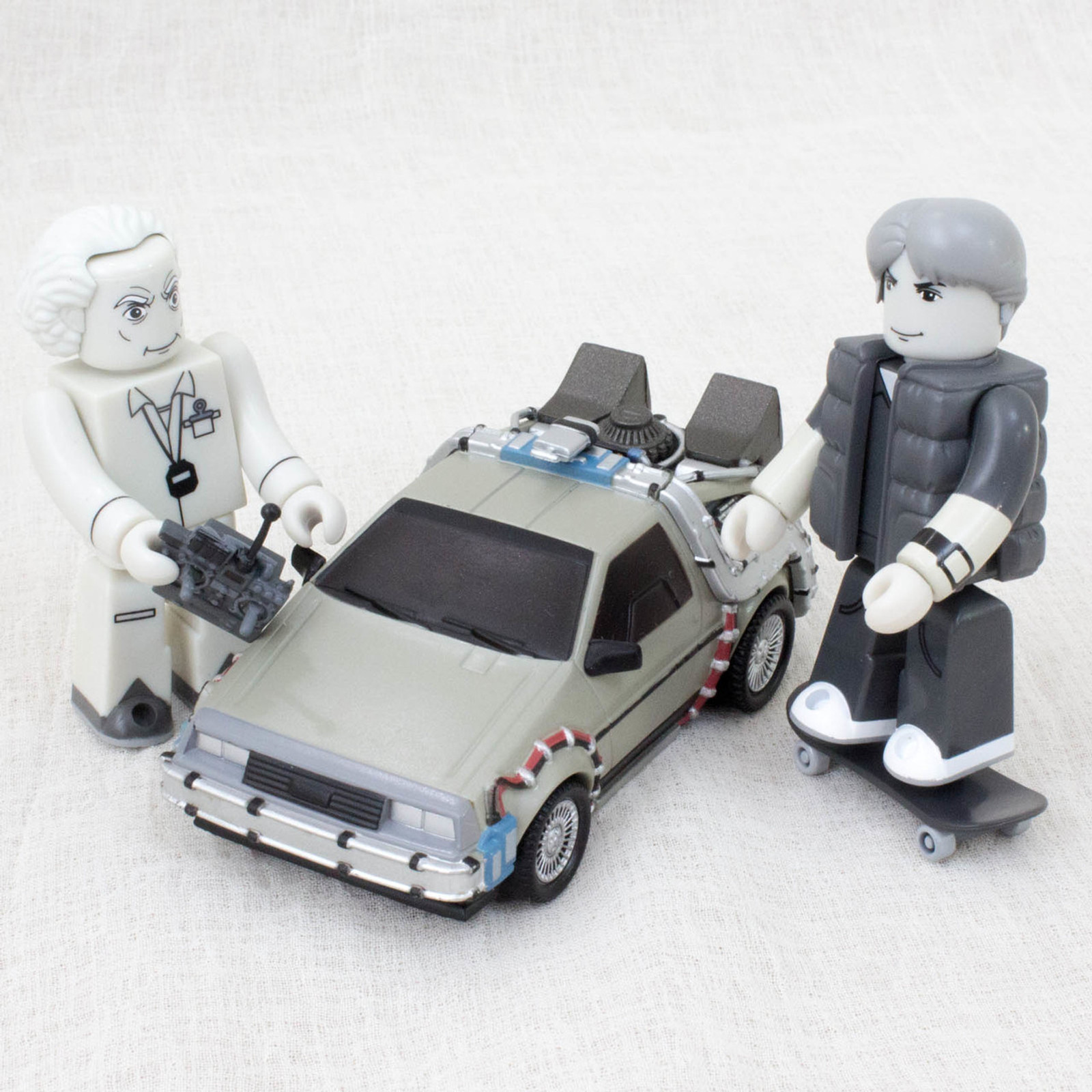 RARE! Back to the Future Kubrick Set Figure 20th Limited Monochrome Medicom