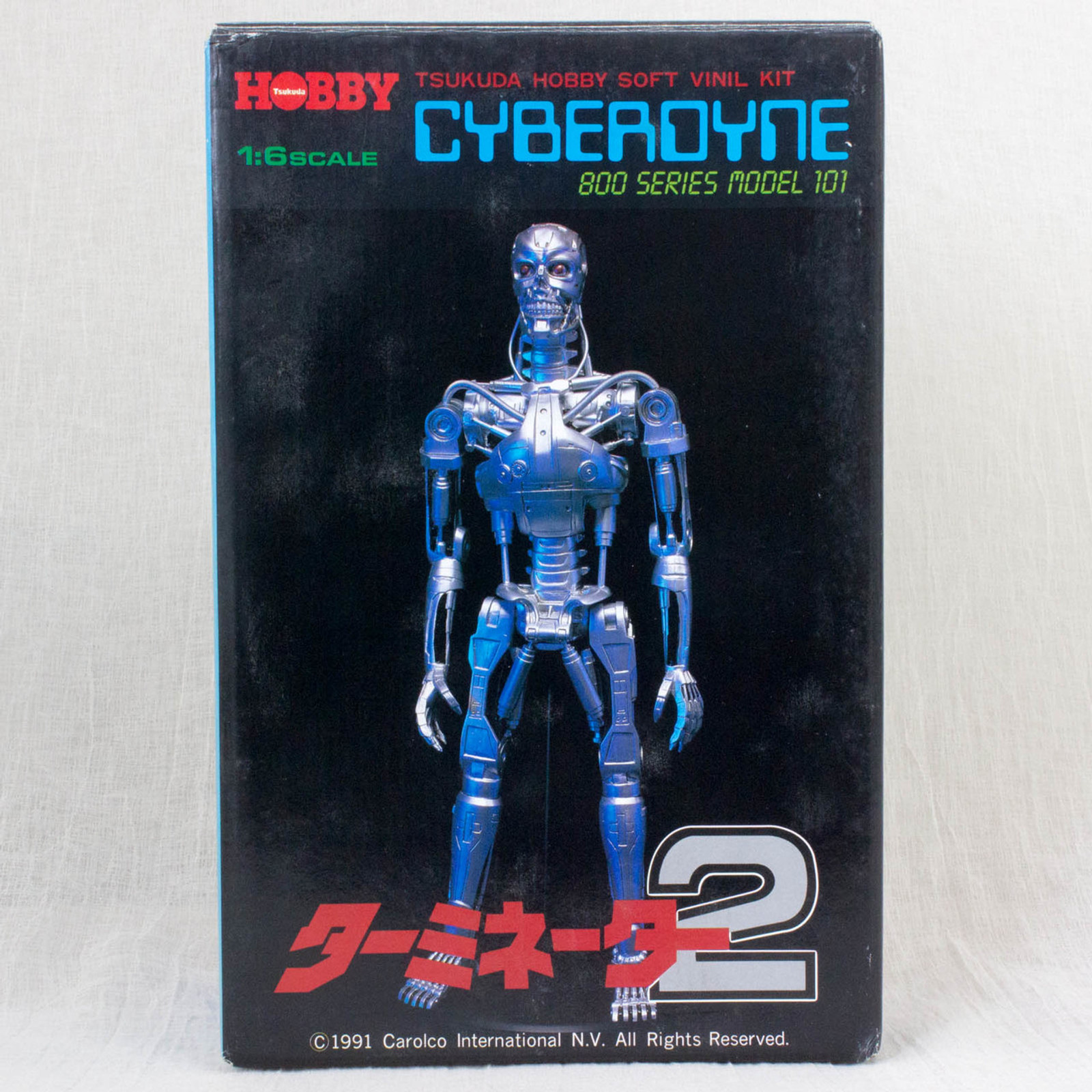 Terminator 2 Cyerdyne 800 Series Model 101 Soft Vinyl Kit 1/6 Tsukuda Hobby