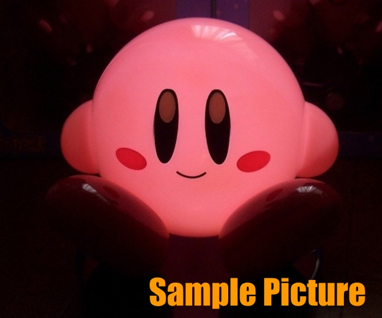 Kirby Super Star Desktop Sensor Light Figure SK JAPAN GAME