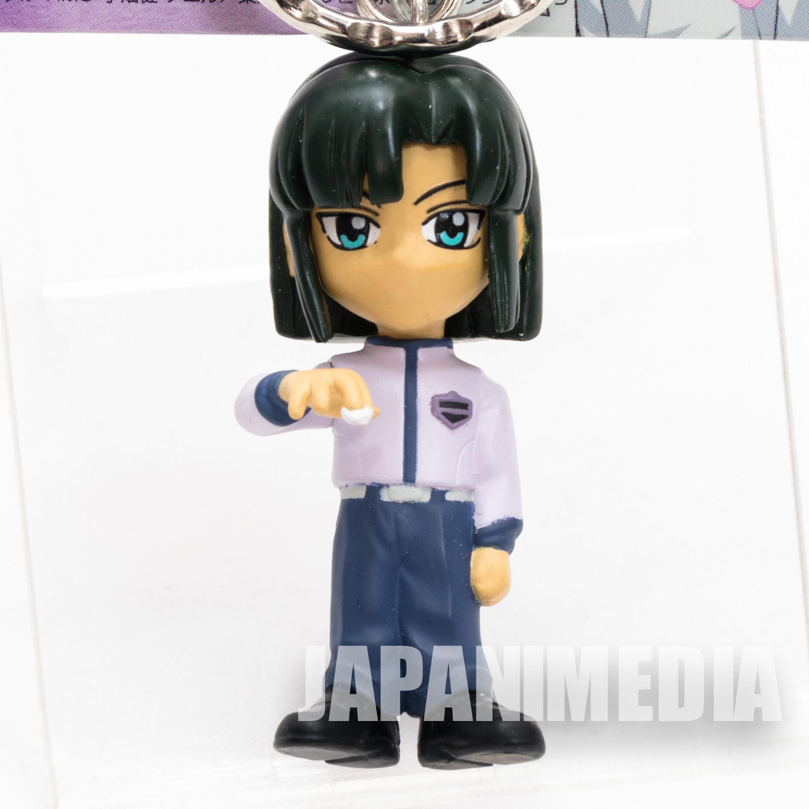 Hikaru no Go Akira Toya Figure Key Chain JAPAN ANIME MANGA JUMP IGO