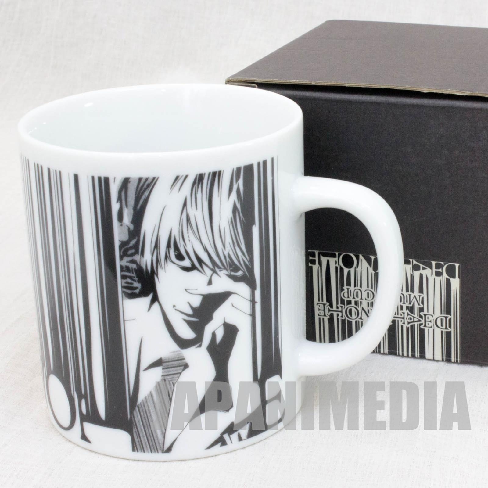 Death Note Light & L Mug JAPAN ANIME MANGA SHONEN JUMP