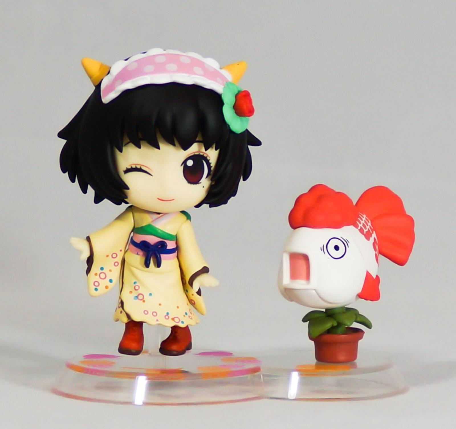 Hozuki no Reitetsu Coolheadedness Peach Maki & Kingyoso Chibi Kyun Chara Figure
