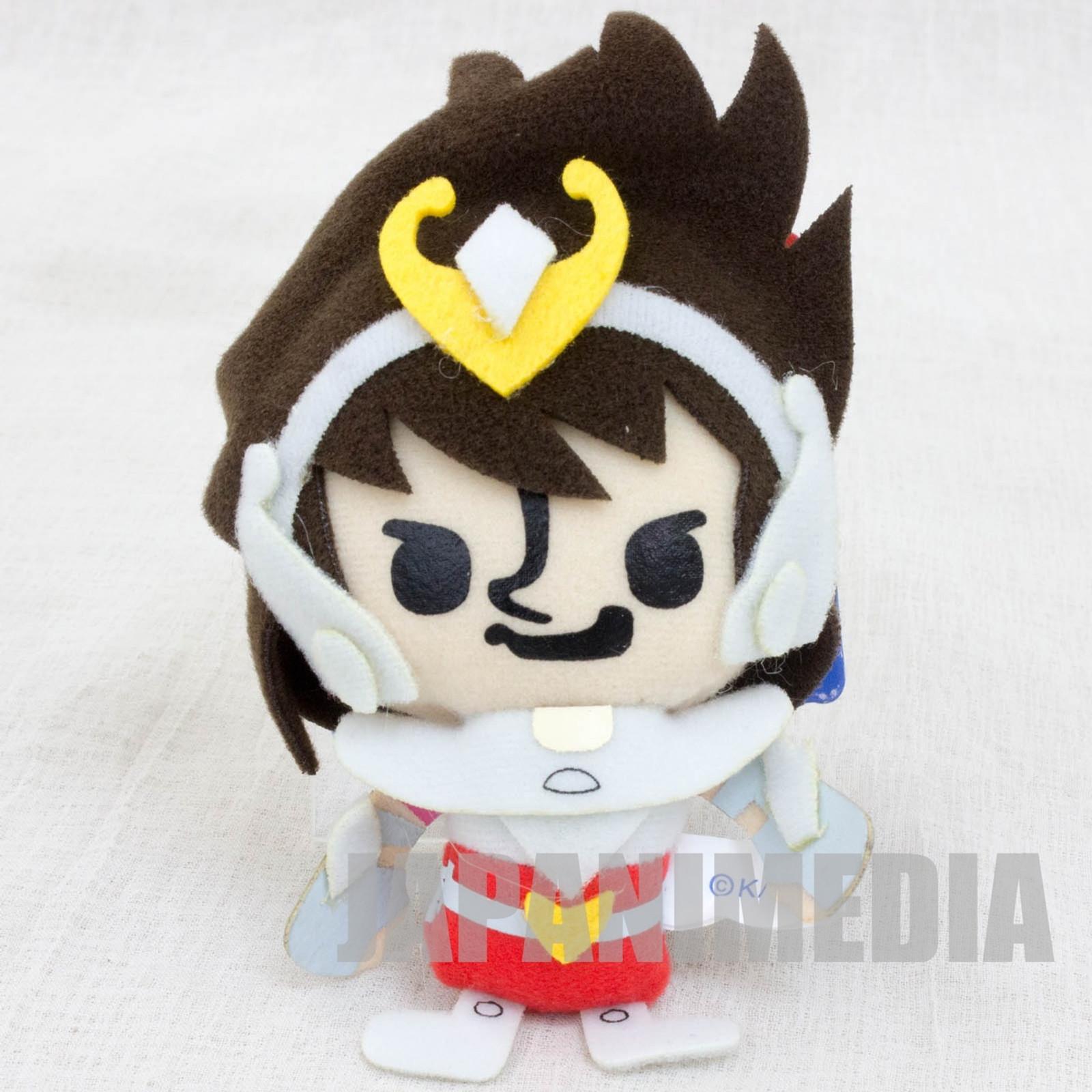 Saint Seiya Pegasus Panson Works Mini Plush Doll Ballchain JAPAN ANIME