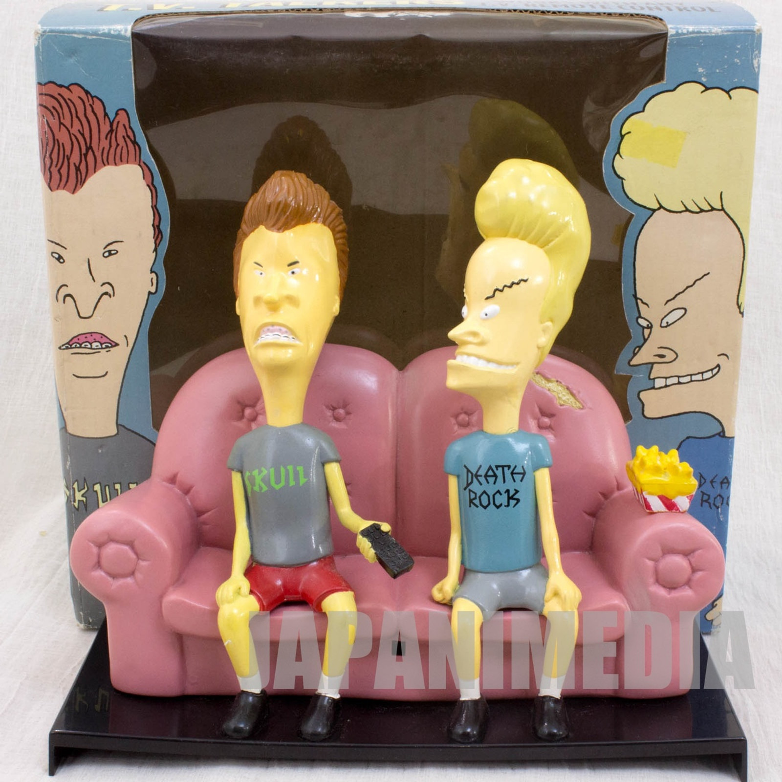 Beavis And Butt-Head on Couch Sofa TV's Talkers Figure MTV ANIME