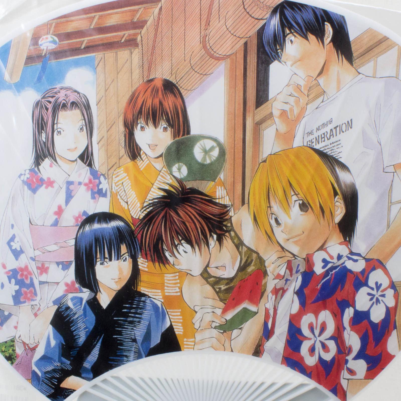 Hikaru no Go Paper Round Fan Uchiwa Shindo Akira Toya JAPAN ANIME MANGA