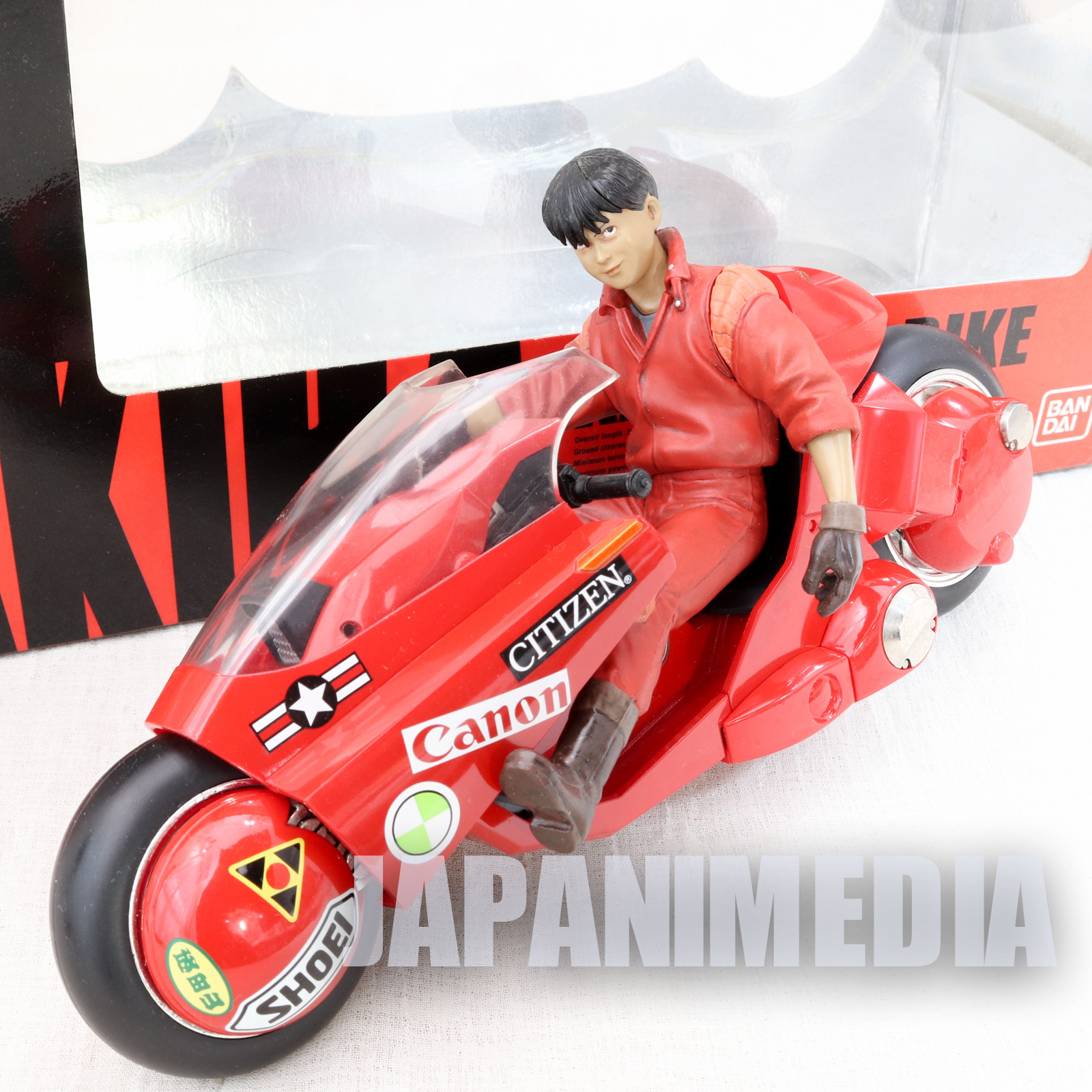 AKIRA Kaneda & BIke Figure PX-03 Soul of Popynica BANDAI Otomo Katsuhiro JAPAN