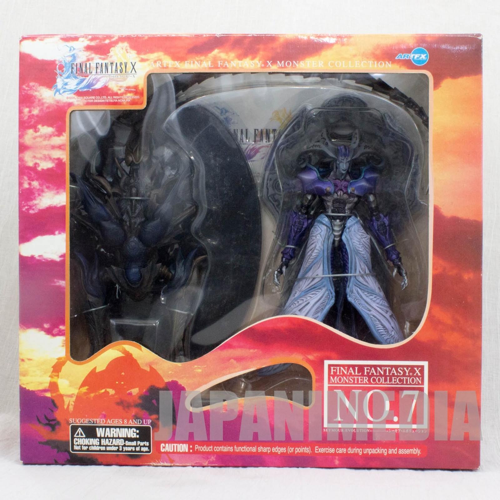 Final Fantasy X 10 Monster Collection #7 Seymour Evolution Figure ARTFX SQUARE