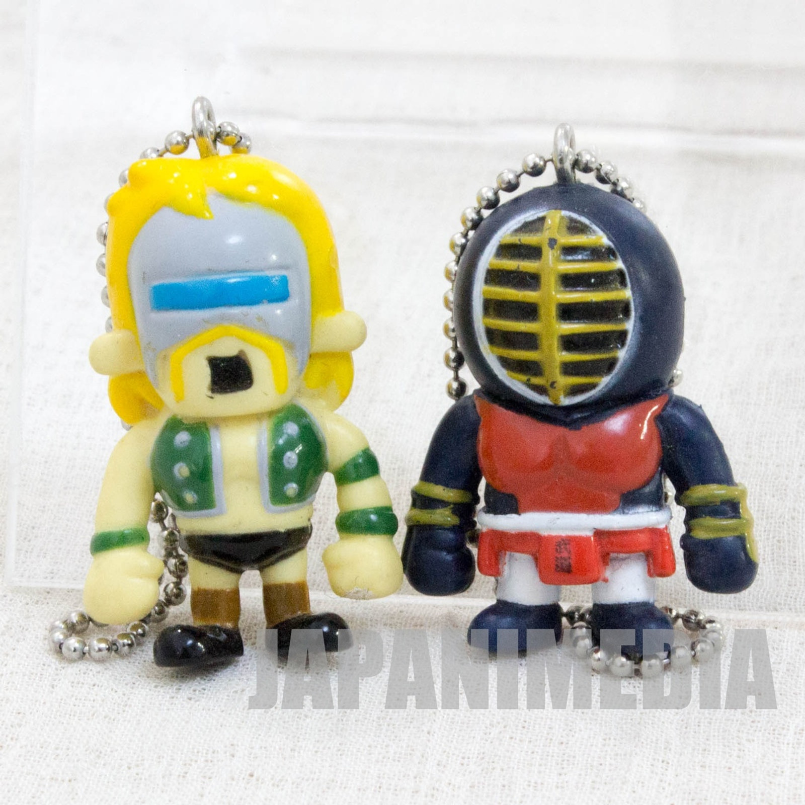 Kinnikuman Neptuneman + Big the Budo Set Panson Works Mini Figure Ballchain