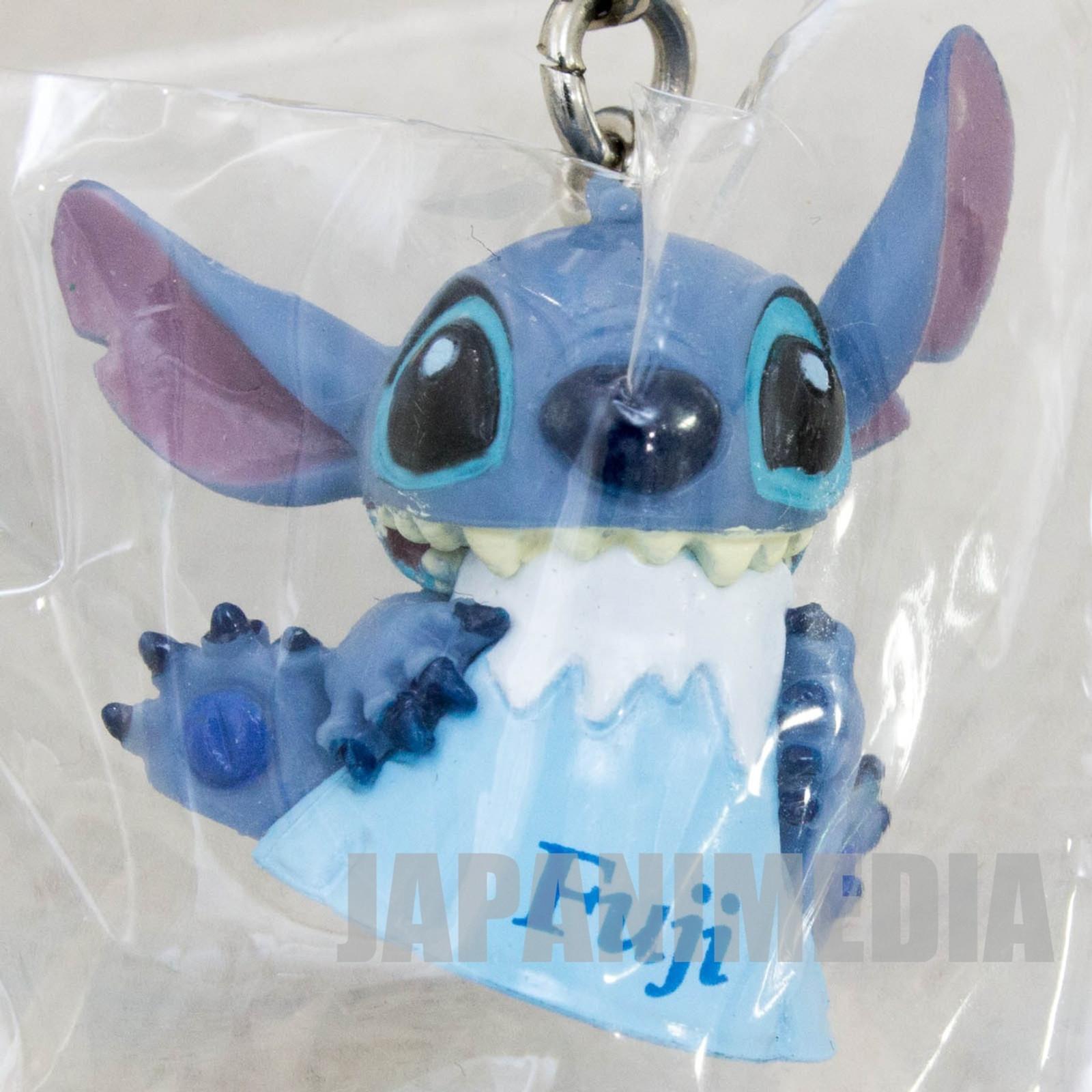 Disney Stitch Mascot Figure Strap Fujisan Fuji Mountain Ver. JAPAN ANIME