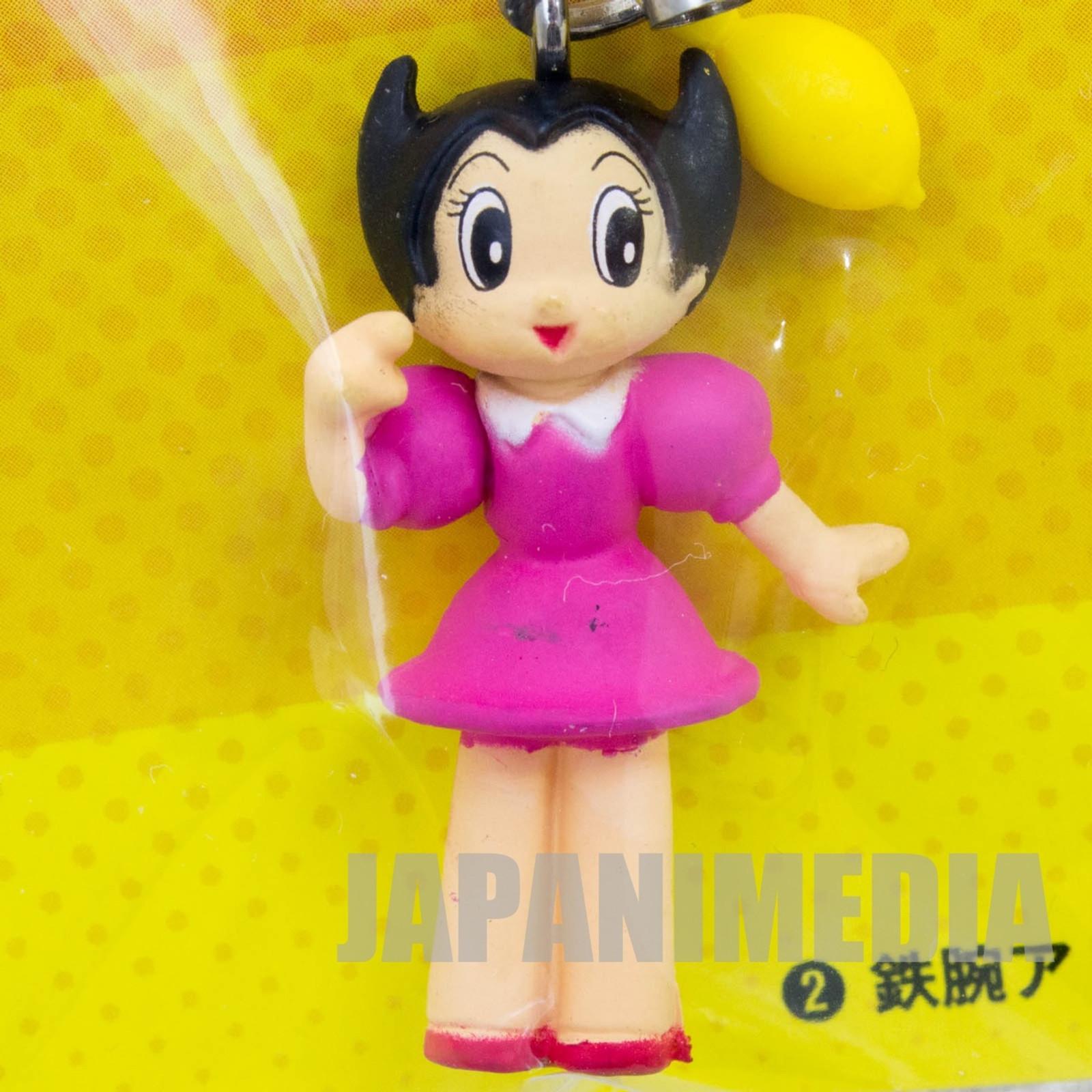 Astro Boy Uran Mascot Figure Strap Osamu Tezuka JAPAN ANIME