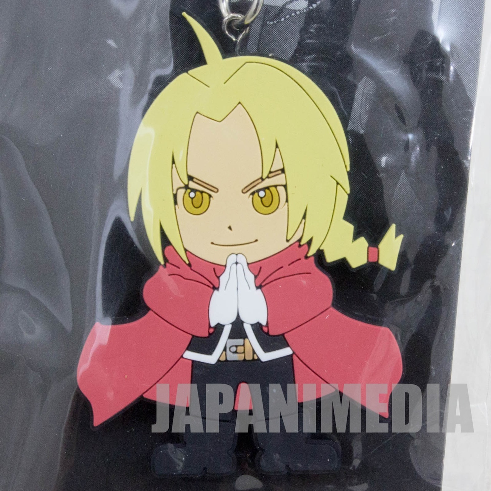 FullMetal Alchemist Movie 2011 Edward Elric Rubber Mascot Strap JAPAN