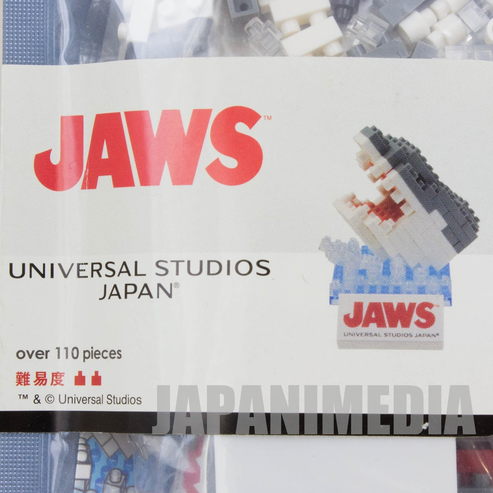 JAWS Universal Studio Japan USJ Kawada Nanoblock Nano Block JAPAN FIGURE