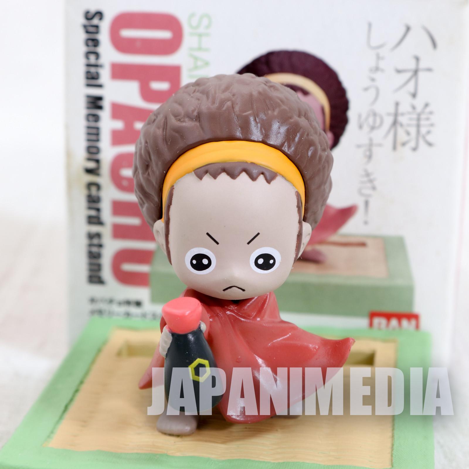 RARE! Shaman King Opacho Mini Figure PS2 Memory Card Stand Bandai JAPAN ANIME