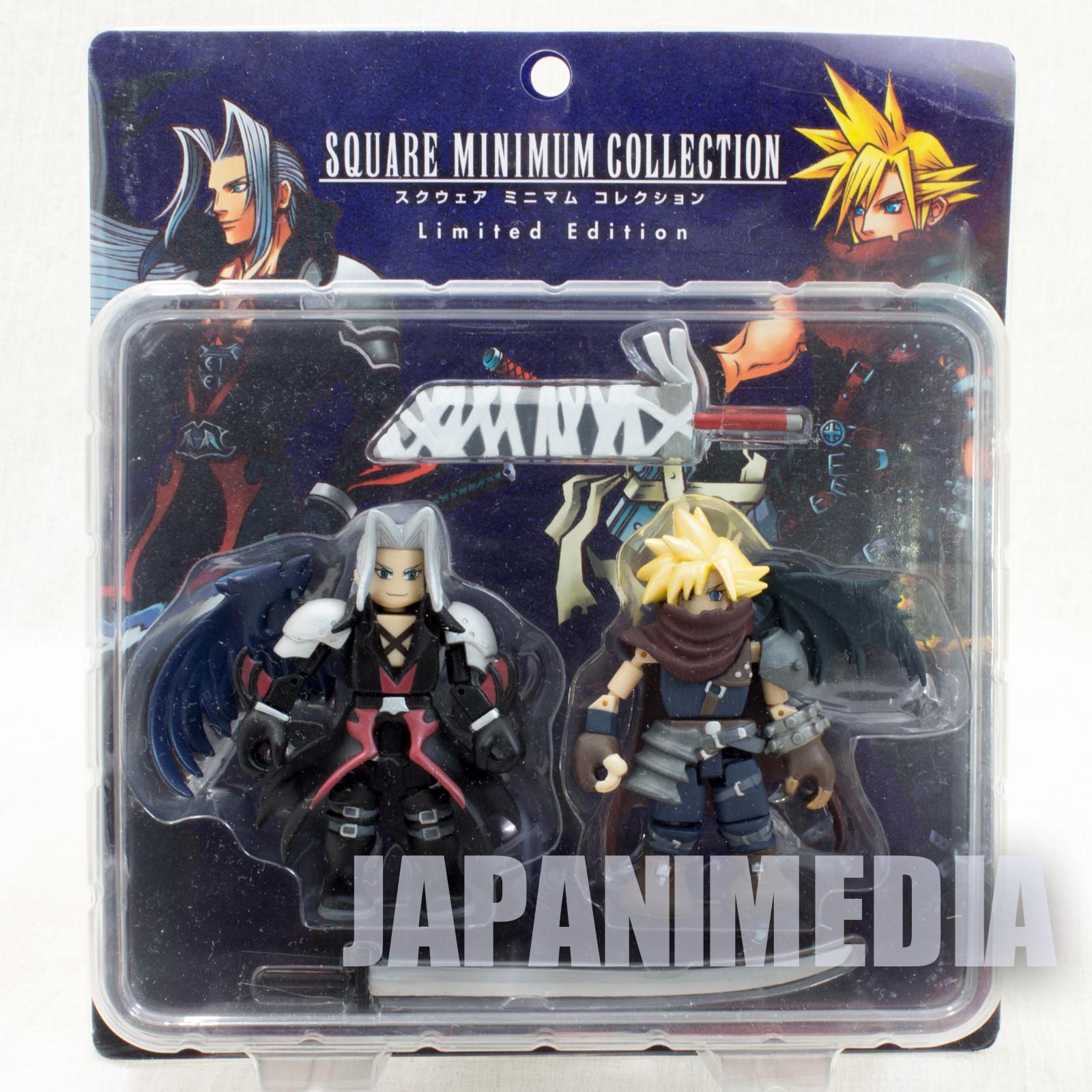 Final Fantasy Cloud Sephiroth figure set Square Enix Minimum Collection JAPAN
