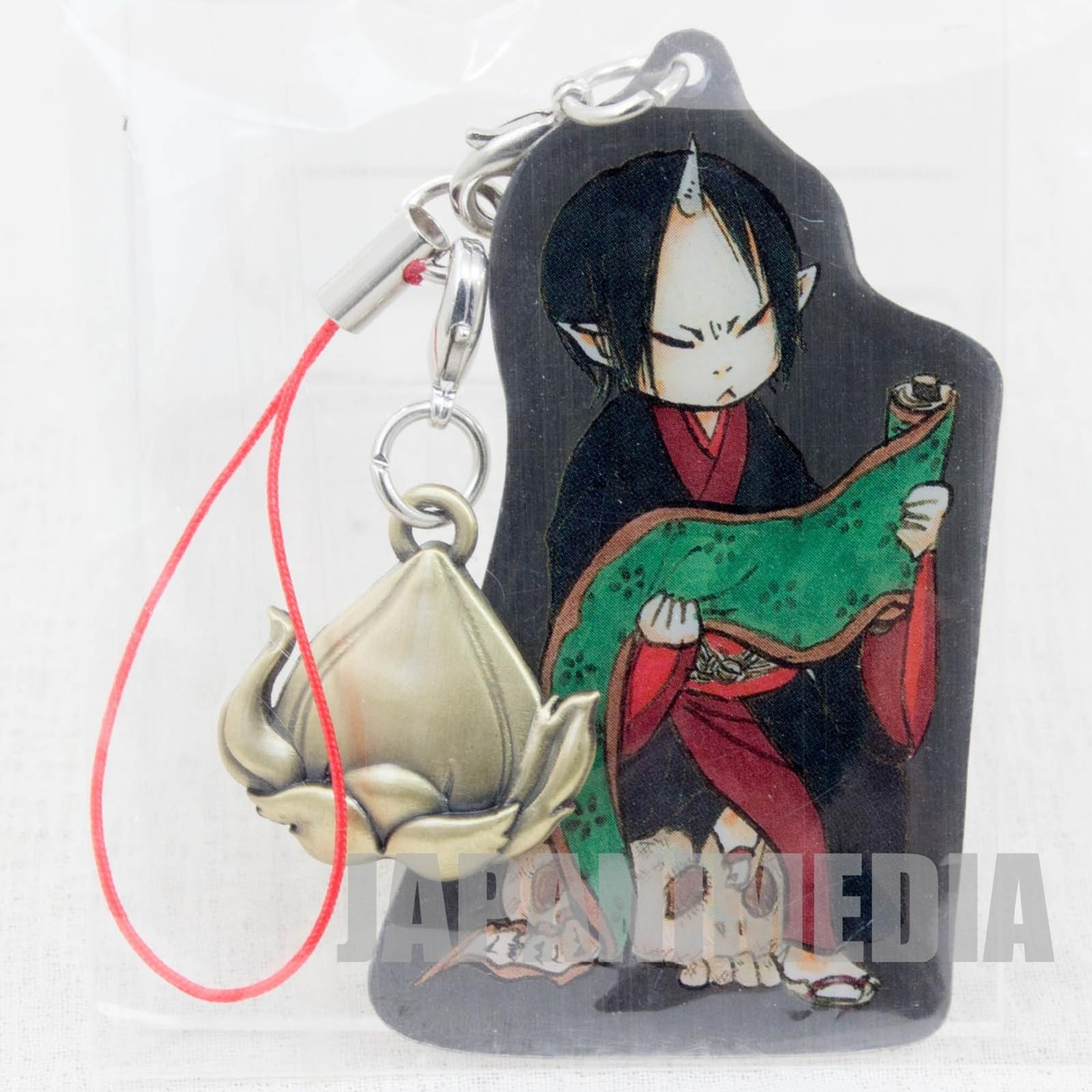 Hozuki no Reitetsu Hozuki Metal Plate Mascot Strap JAPAN ANIME MANGA