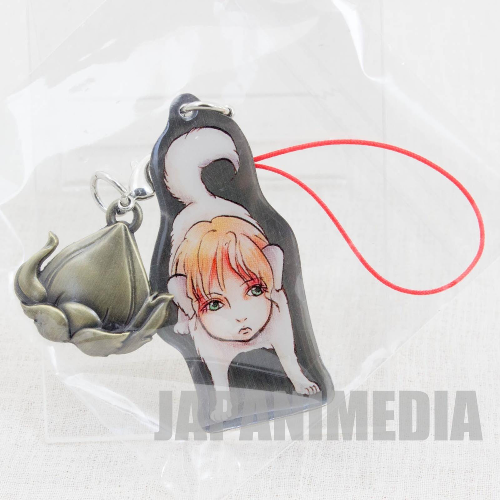 Hozuki no Reitetsu Jinmen-ken Metal Plate Mascot Strap JAPAN ANIME MANGA