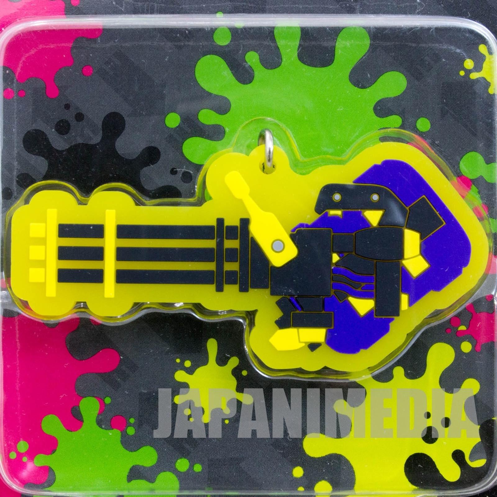 Splatoon 2 Heavy Splatling Rubber Charm Collection JAPAN Nintendo Switch