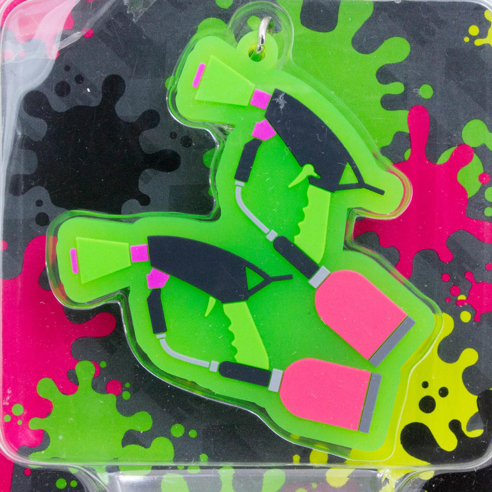 Splatoon 2 Splat Dualies Rubber Charm Collection JAPAN Nintendo Switch