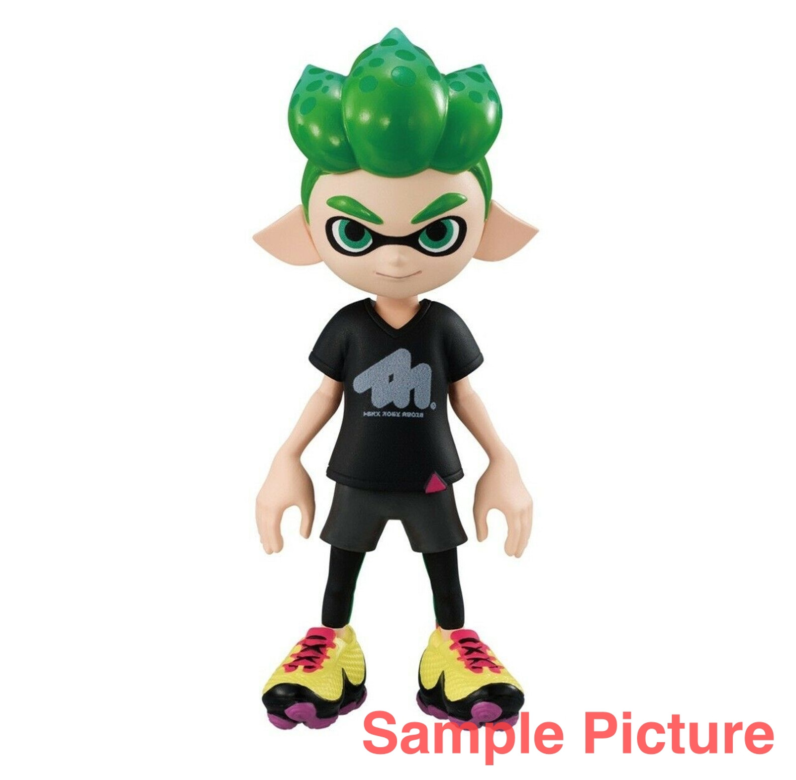 Splatoon 2 Dress-up Figure Gear Collection Squid BOY 1 JAPAN Nintendo Switch