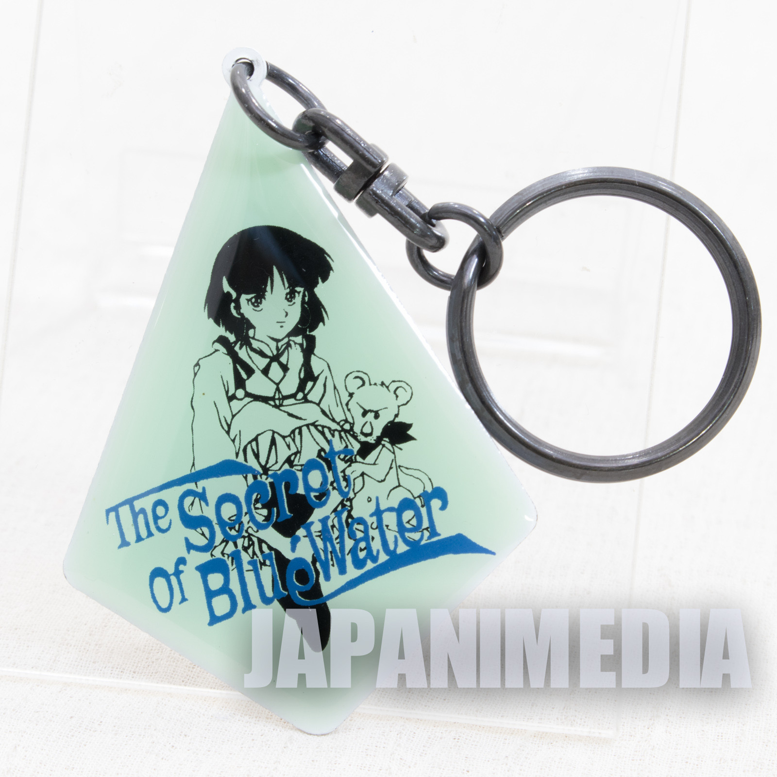 Retro RARE Nadia The Secret of Blue Water Plate Key Chain JAPAN ANIME GAINAX