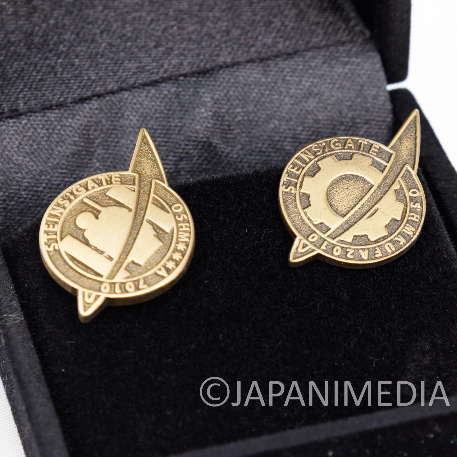 RARE! Steins ; Gate Lab Men Pins Badge Set JAPAN ANIME MANGA 2