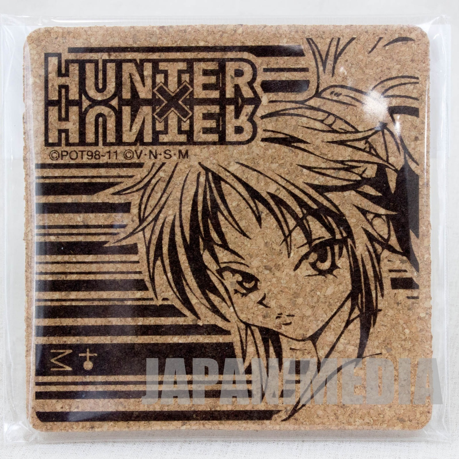 RARE! HUNTER x HUNTER Machi Cork Coaster JAPAN ANIME MANGA SHONEN JUMP