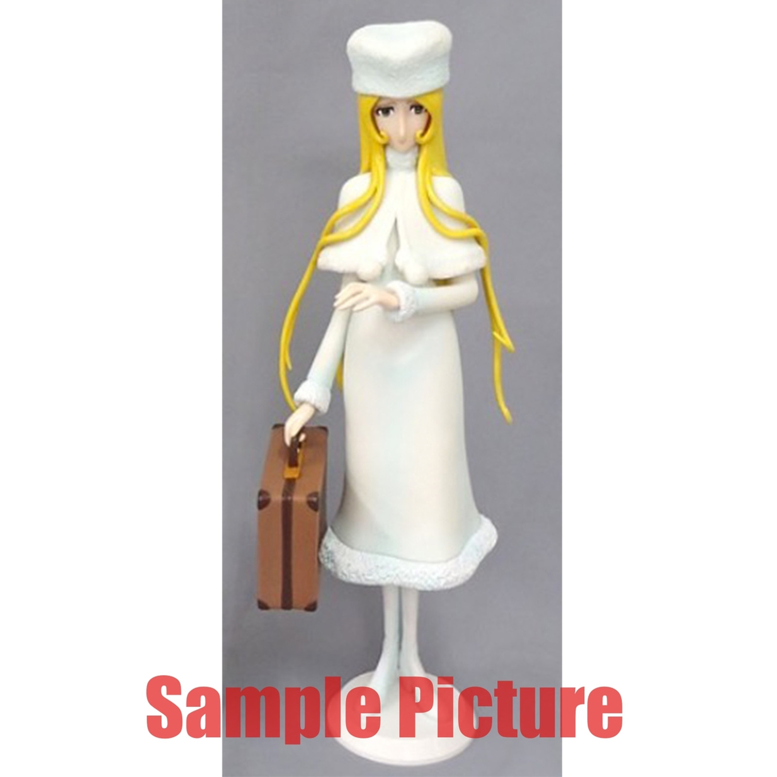 "Galaxy Express 999 Maetel Legend 12"" Big Figure White Ver. JAPAN ANIME"