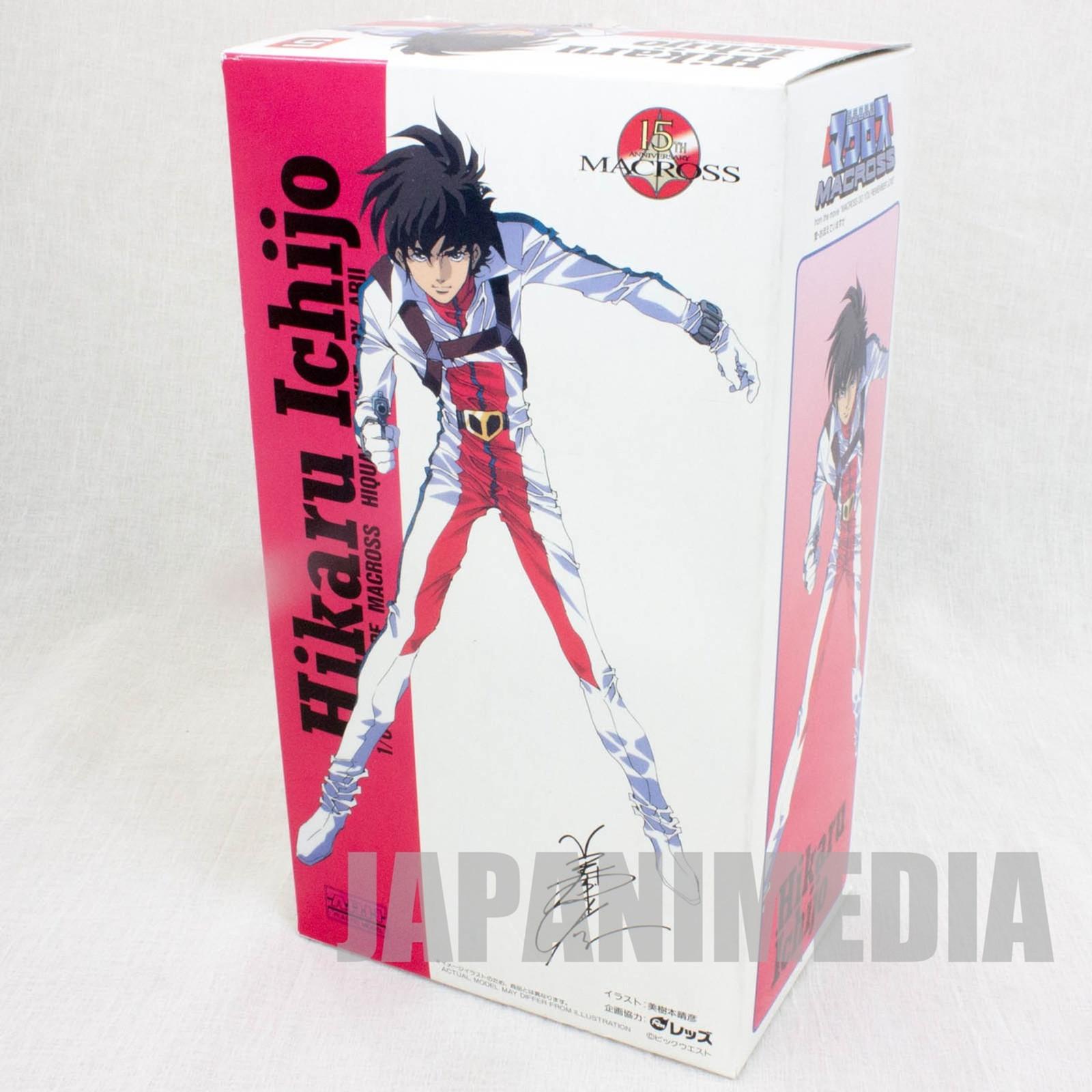 Macross Ichijo Hikaru 1/6 PVC Model Kit Figure JAPAN ANIME MANGA