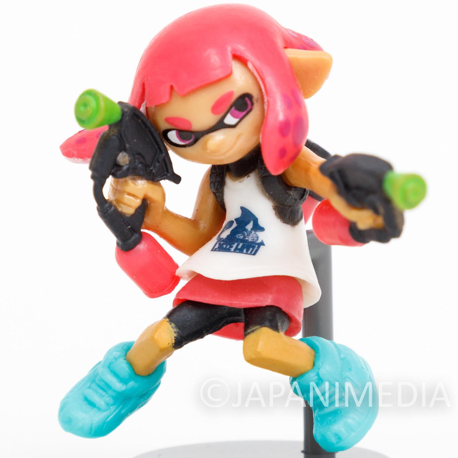 Splatoon 2 Squid GIRL with Splat Dualies Choco-egg Mini Figure JAPAN SWITCH