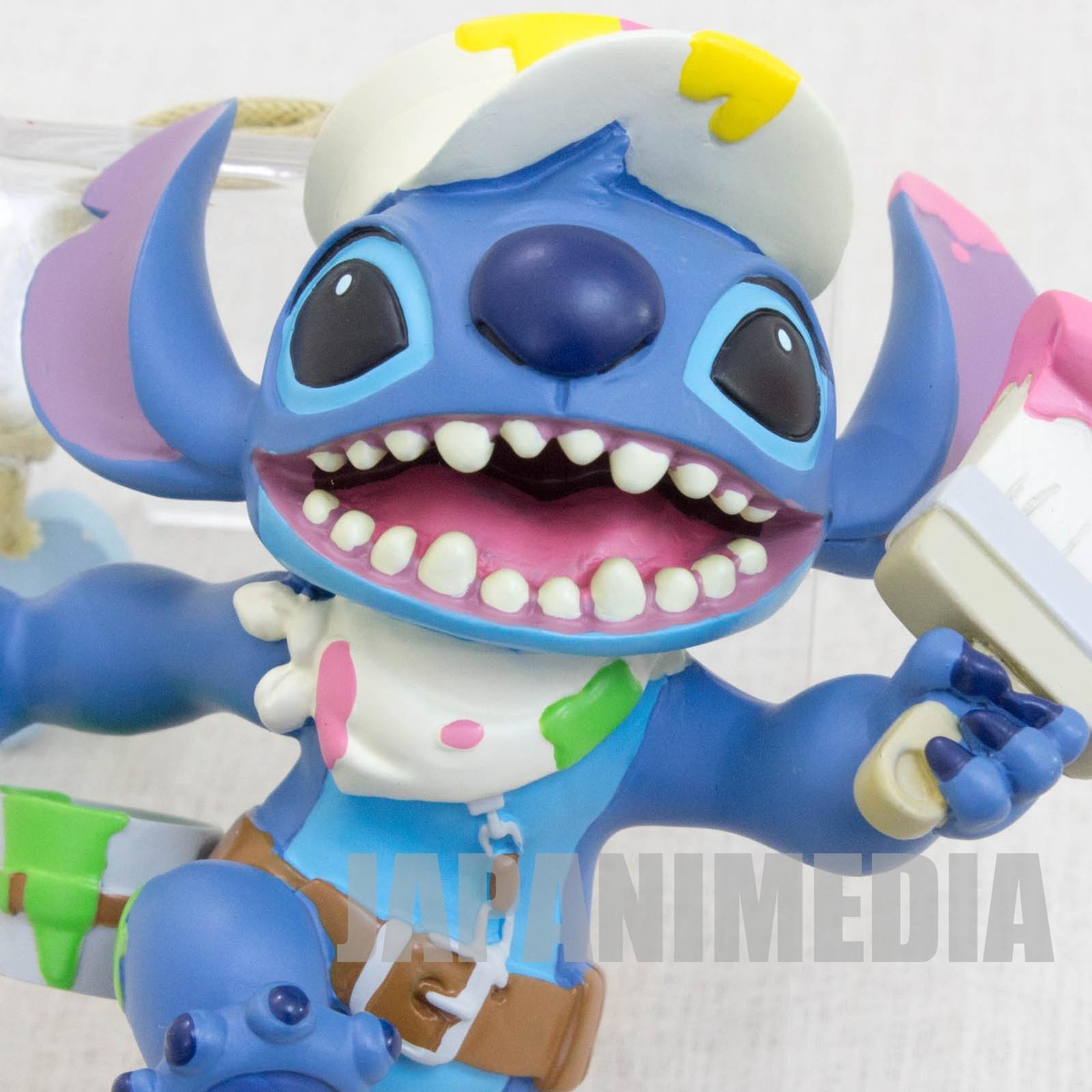 Disney Stitch Figurerine painter ver. Tokyo Disney Resort JAPAN ANIME