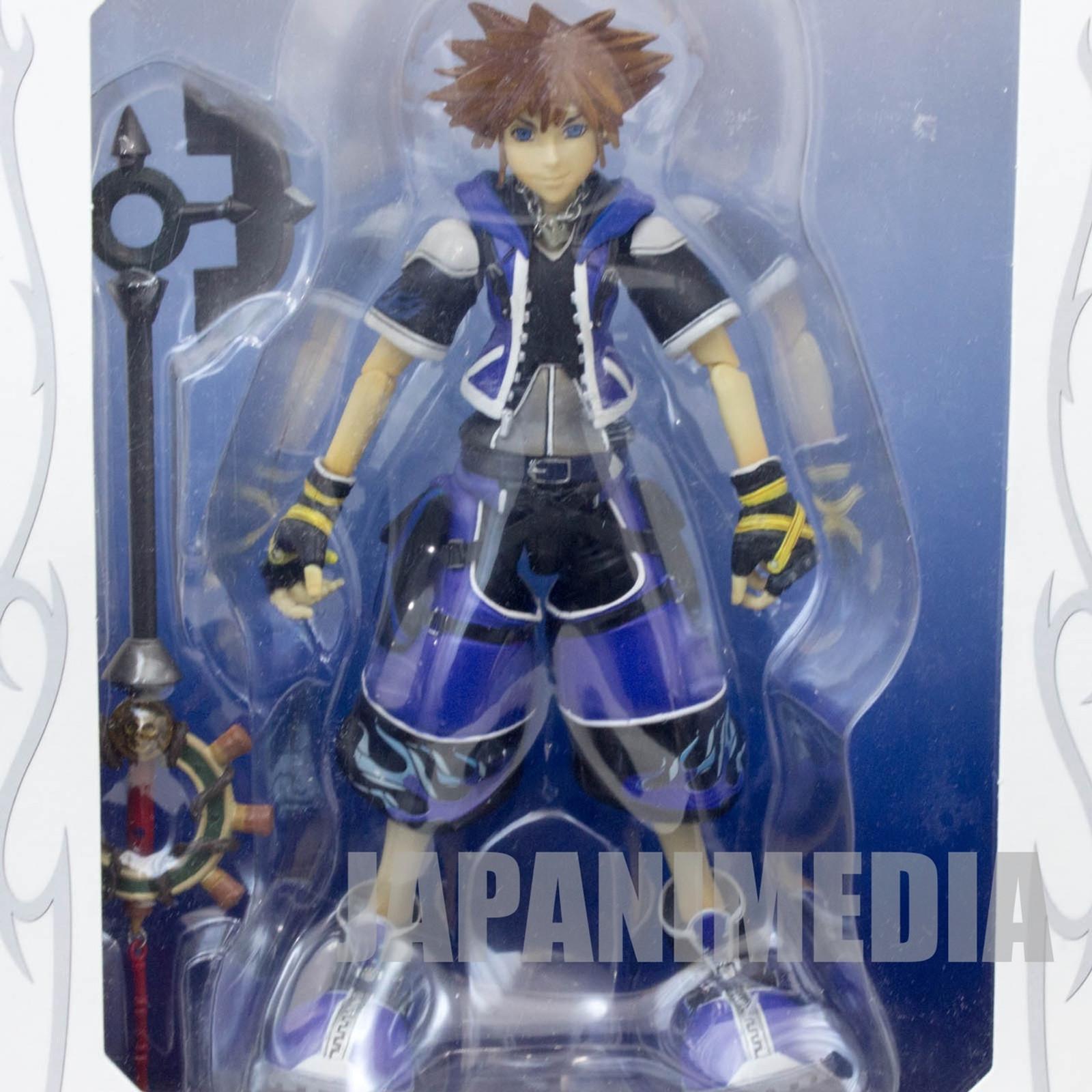 Kingdom Hearts SORA Wisdom Form Action Figure Play Arts Square Enix JAPAN GAME