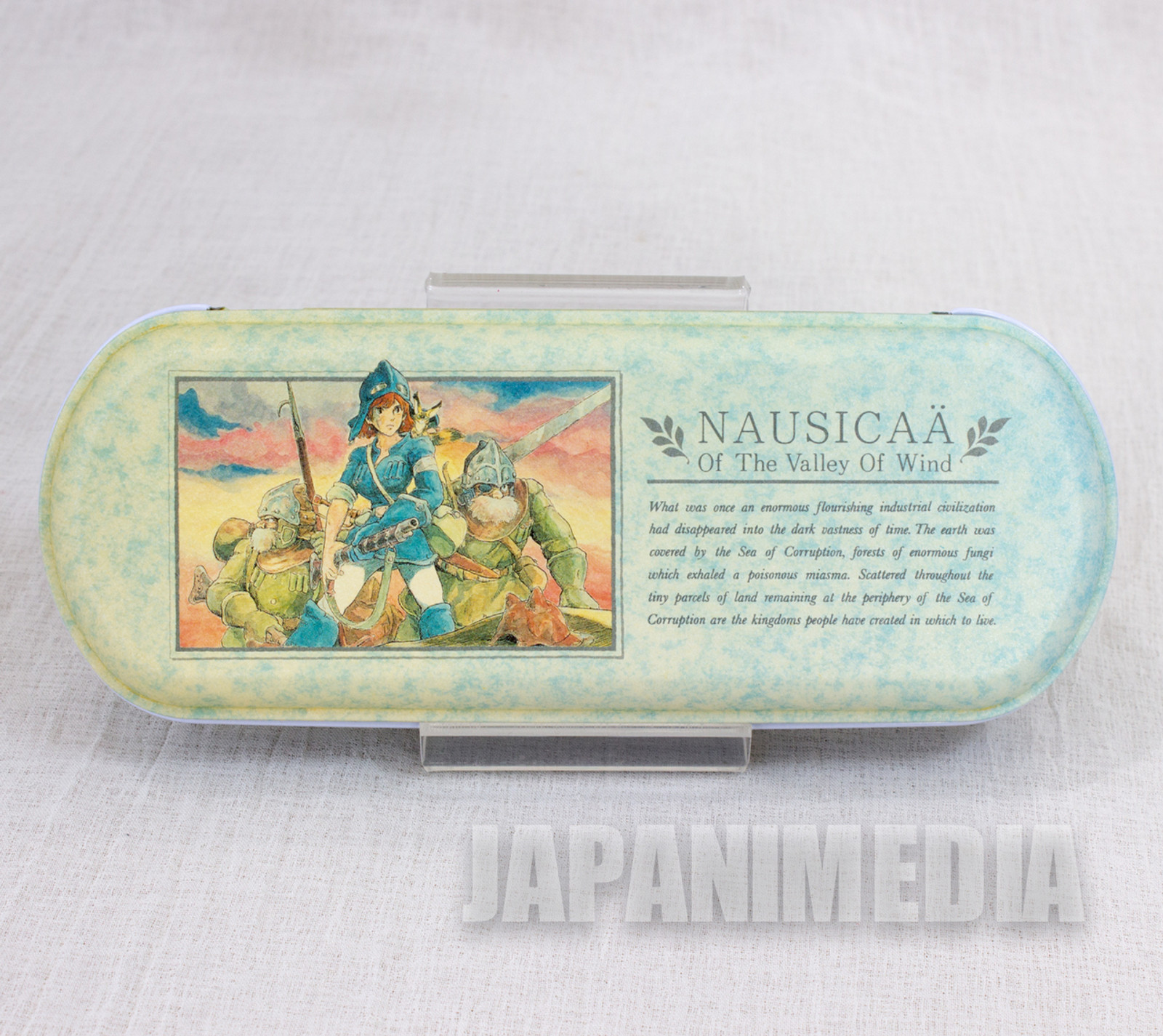 Retro RARE Nausicaa of the Valley Can Pen Case Tokuma Shoten Ghibli JAPAN 2