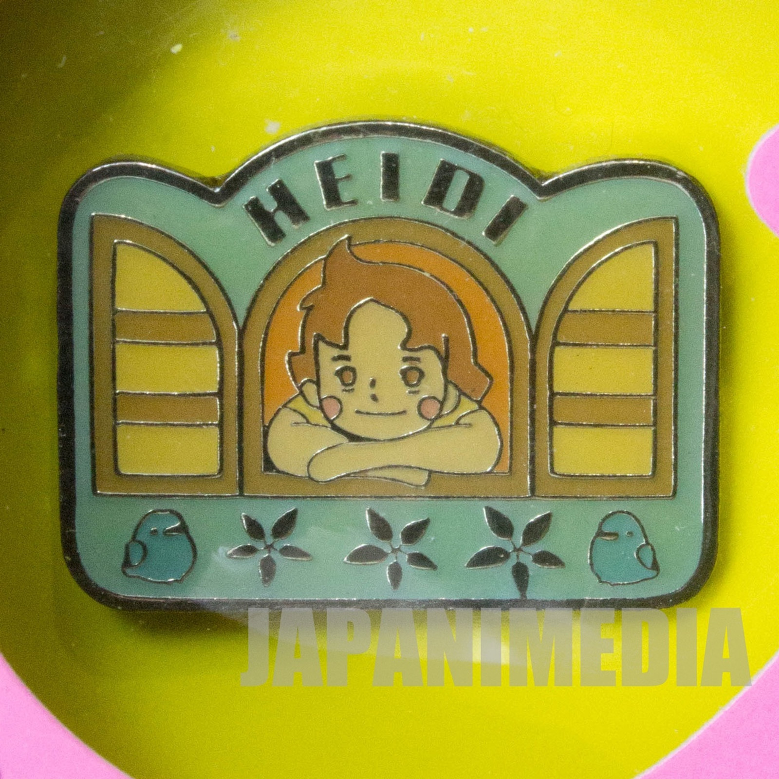 Heidi Girl of the Alps Cute Pins Kabaya JAPAN ANIME #7