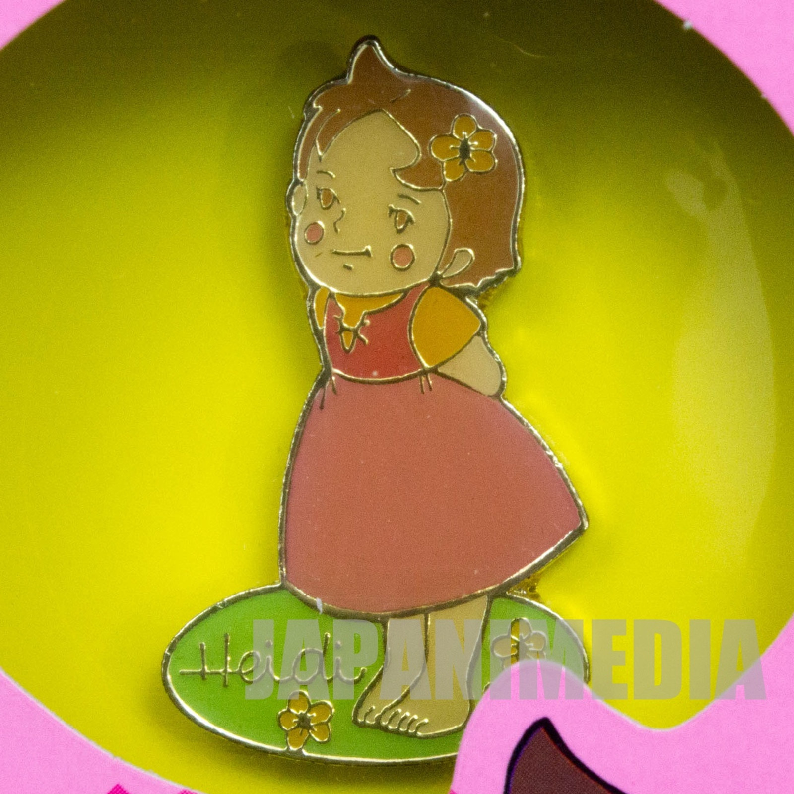 Heidi Girl of the Alps Cute Pins Kabaya JAPAN ANIME #10
