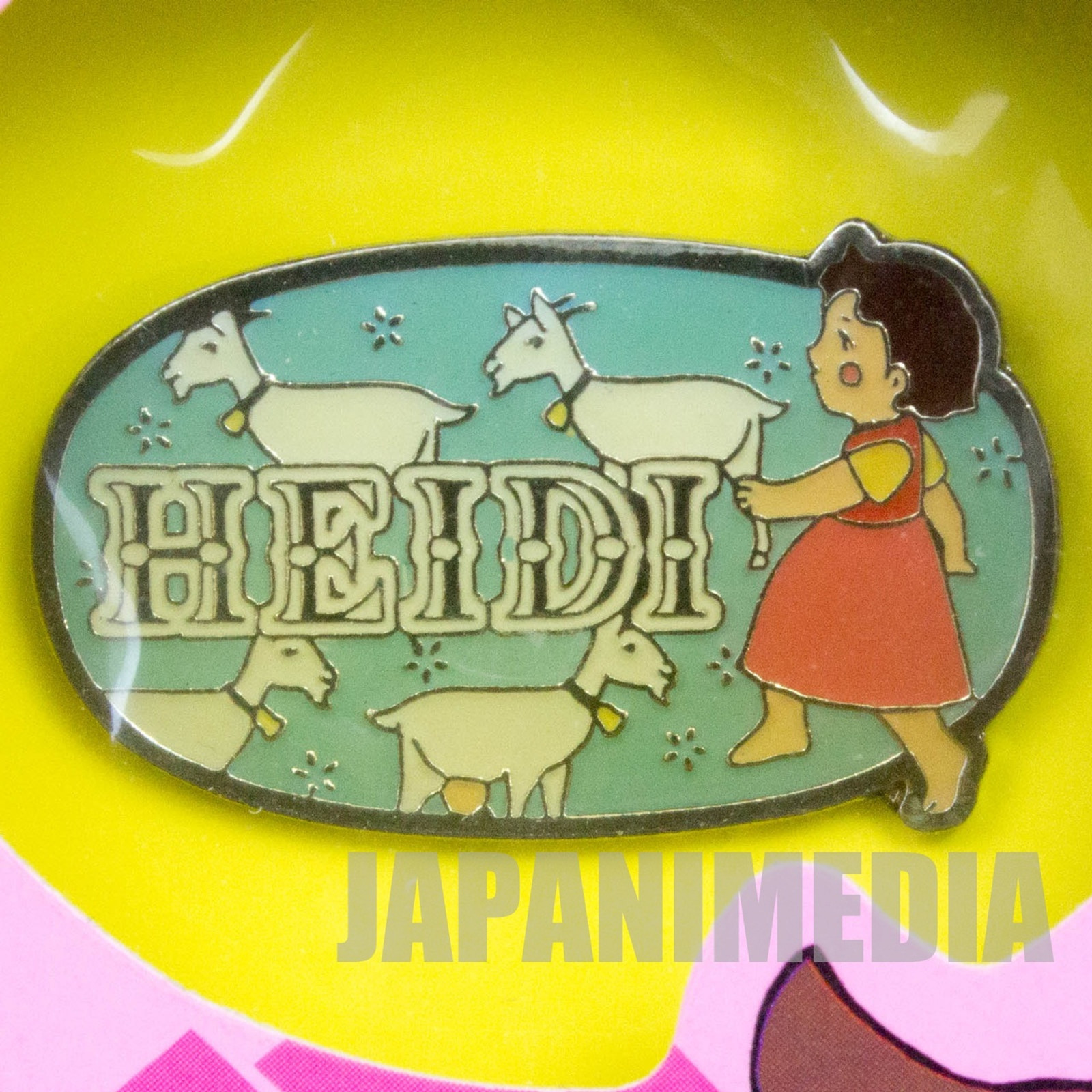 Heidi Girl of the Alps Cute Pins Kabaya JAPAN ANIME #16