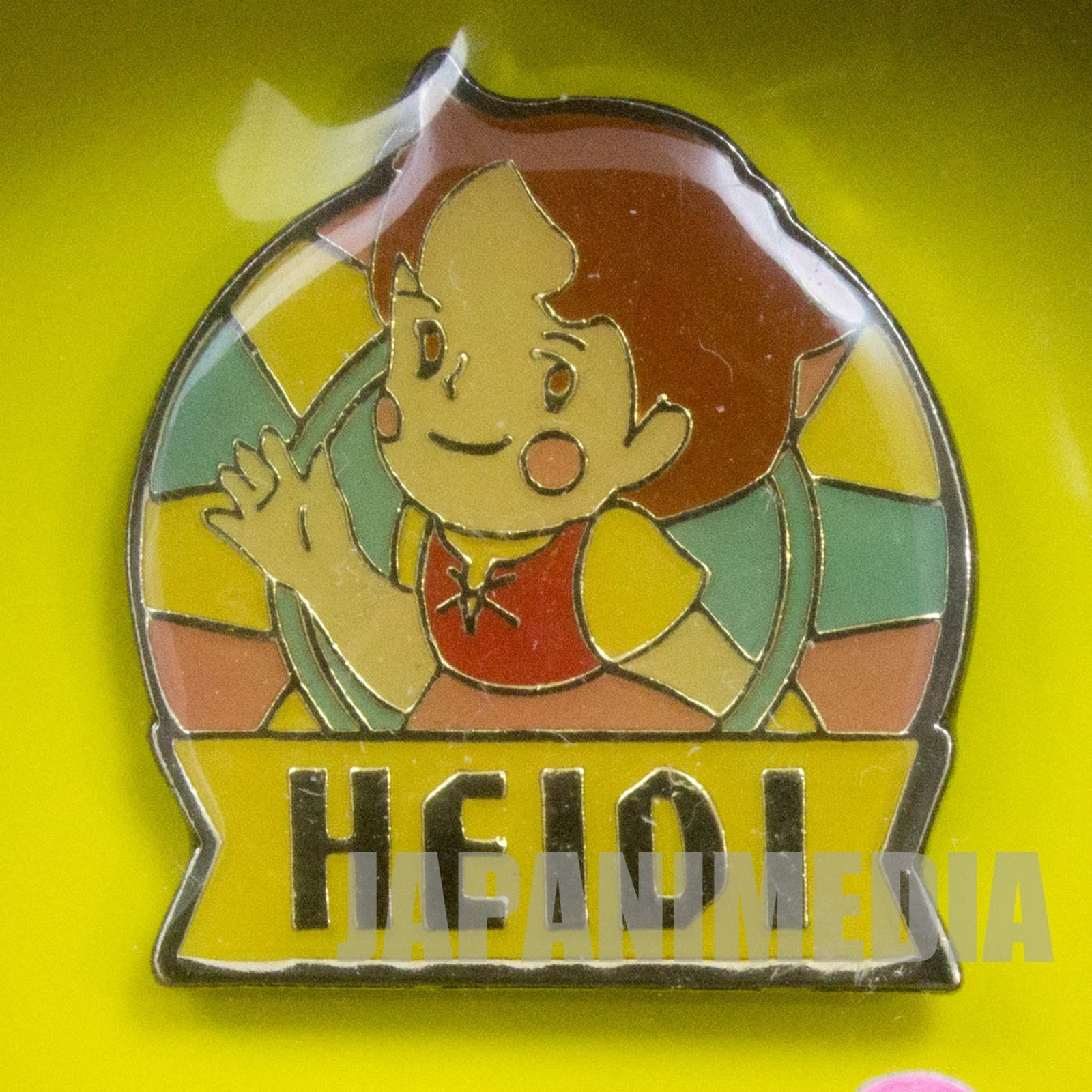 Heidi Girl of the Alps Cute Pins Kabaya JAPAN ANIME #20