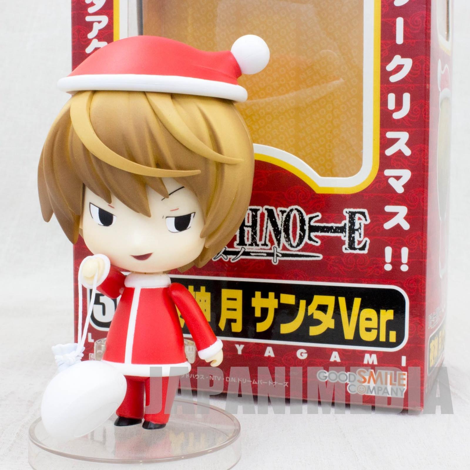 Death Note Yagami Light Figure Santa Cosplay Nendoroid JAPAN ANIME JUMP