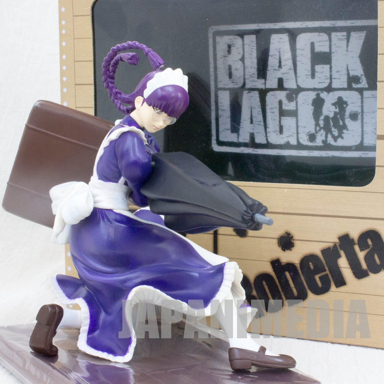 Black Lagoon Roberta PVC Figure Maid Costume SOL International JAPAN ANIME MANGA